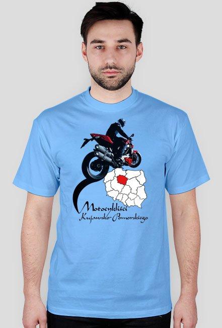 Motocykliści kujawsko-pomorskiego - koszulka męska