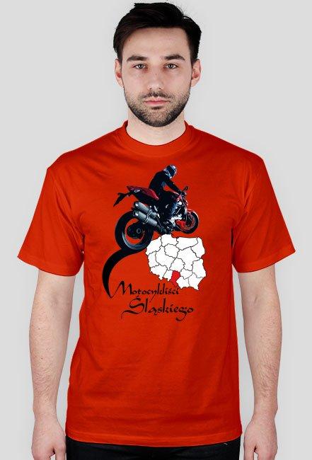 973f23eec476d1 Motocykliści śląskiego - koszulka męska - koszulki męskie w Koszulki ...
