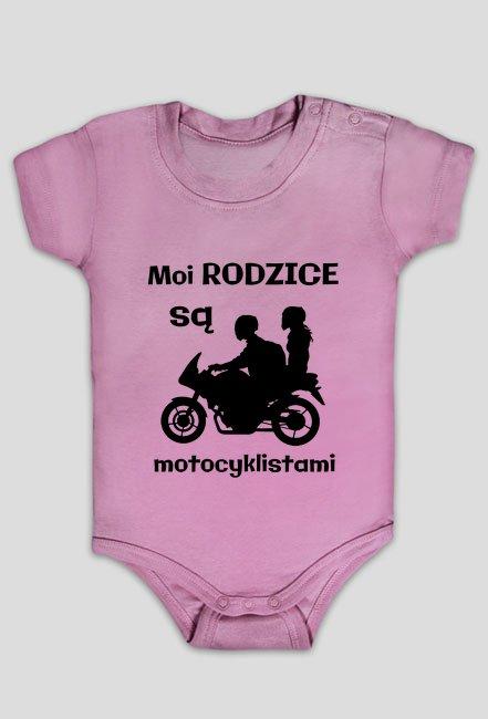 Moi rodzice są motocyklistami