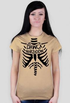 Dawca narządów - koszulka damska