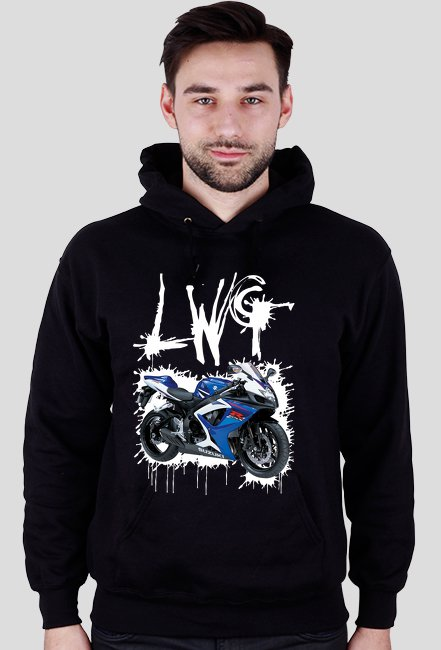LWG czarna - bluza