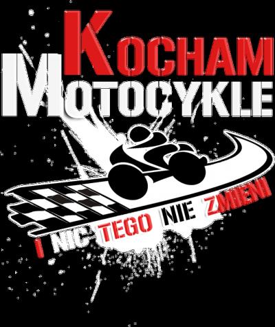 Kocham motocykle i nic tego nie zmieni WM - koszulka
