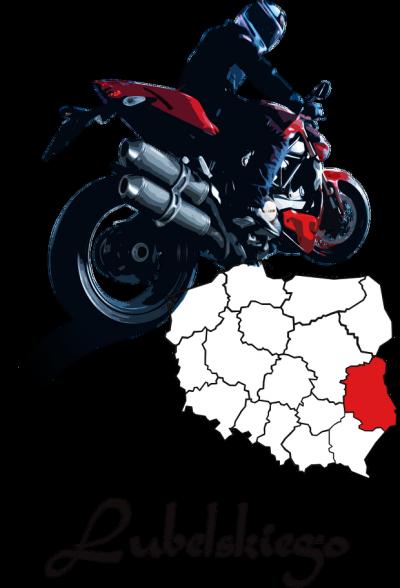 Motocykliści lubelskiego - koszulka męska