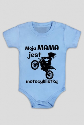 Moja mama jest motocyklistką