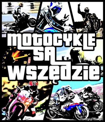 Motocykle są wszędzie WM - koszulka