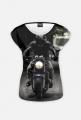 Motorbike FullPrint - koszulka dla motocyklistki