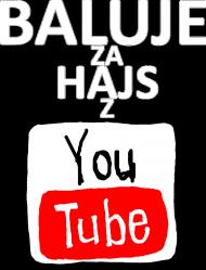 BALUJE ZA HAJS Z YOUTUBE Męska - czarna - wersja 2