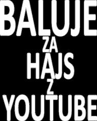 BALUJE ZA HAJS Z YOUTUBE Męska - czarna - wersja 4