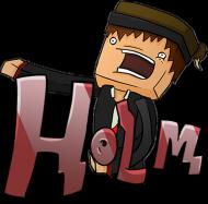 Zdziwiony Holm (Poduszka)