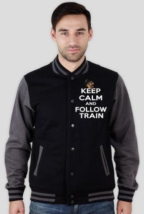 Keep Calm Follow Train bluza