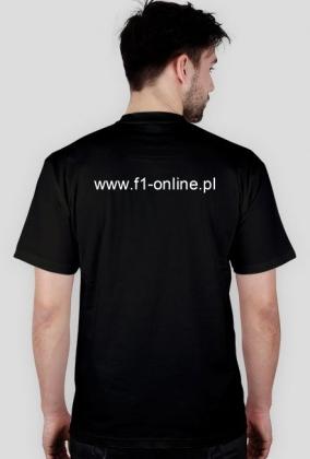 Koszulka, czarna, duże logo