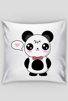 kawaii panda poduszka