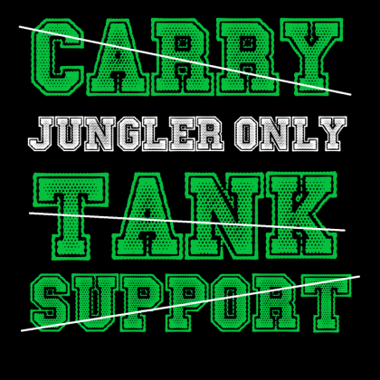 Koszulka Jungler Only