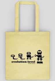 evolution level - ryjoo - torba - b/w