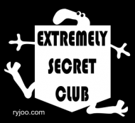 extremely secret club 0001 b/w ryjoo