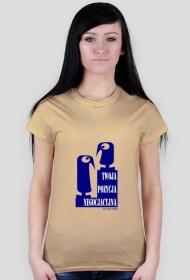twoja pozycja negocjacyjna - koszulka damska ryjoo