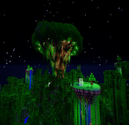 Drzewo Poduszka Minecraft