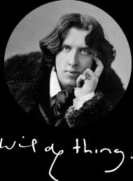 Koszulka męska z Oscarem Wilde