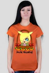Jestę Kicałką - koszulka damska