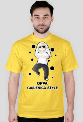 Gąsiennica Style!- koszulka męska