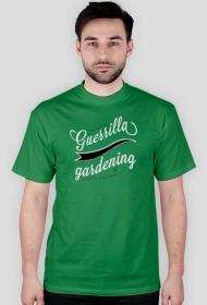 T-Shirt Guerrillagardening.pl męski/zielony