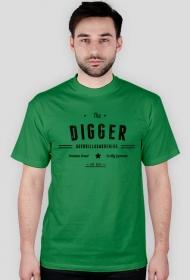 T-Shirt - Digger męski/zielony