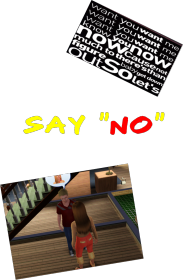 "Say "" No"" for girl"