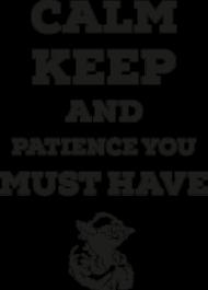 Patience! - kubek