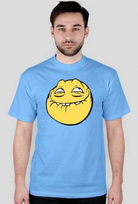 Koszulka męska z uśmiechem