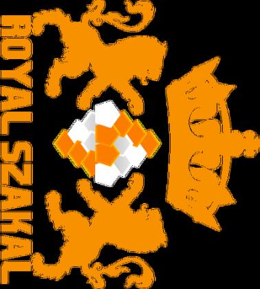 """PODKŁADKA POD MYSZ """"Royal Szakal ORANGE"""""""