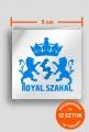 12x Vlepki Royal Szakal