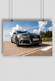 Plakat Audi RS6 Avant