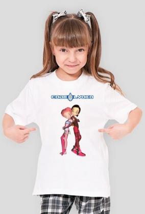 Code Lyoko - Yumi & Aelita - koszulka dziewczęca