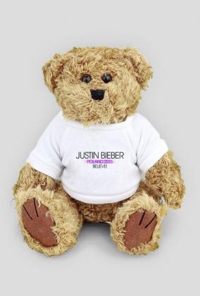 Maskotka Justin Bieber Poland 2015