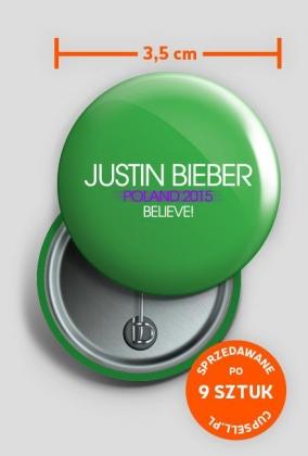 Kapsle Justin Bieber Poland 2015