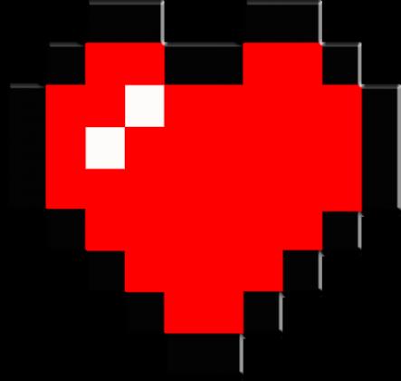 PODUSZKA! Minecraft Serce :)