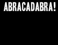 ABRACADABRA! biała