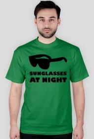 Sunglasses at night - man