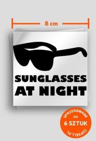 Sunglasses at night - wlepki