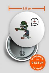 Zombie pin