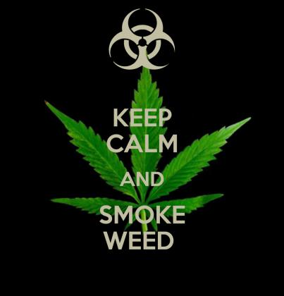 Keep Calm and Smoke ;))