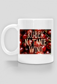Kubek na tanie wino!