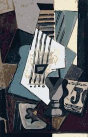Gitara Picassa - 1914 - kubek