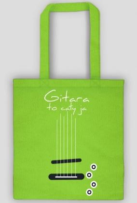 Gitara to cały ja - elektryczna troba z uchem
