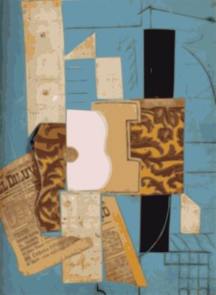 Gitara Picassa - 1913