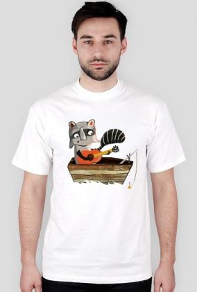 Gitarowy Szop - koszulka męska