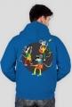Gitarowe Myszy - rozpinana bluza męska z kapturem