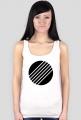 Otwór rezonansowy - koszulka damska na ramiączkach