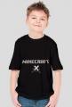 Dziecięca- Logo Minecraft + 2 miecze