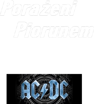 Podkoszulka AC/DC
